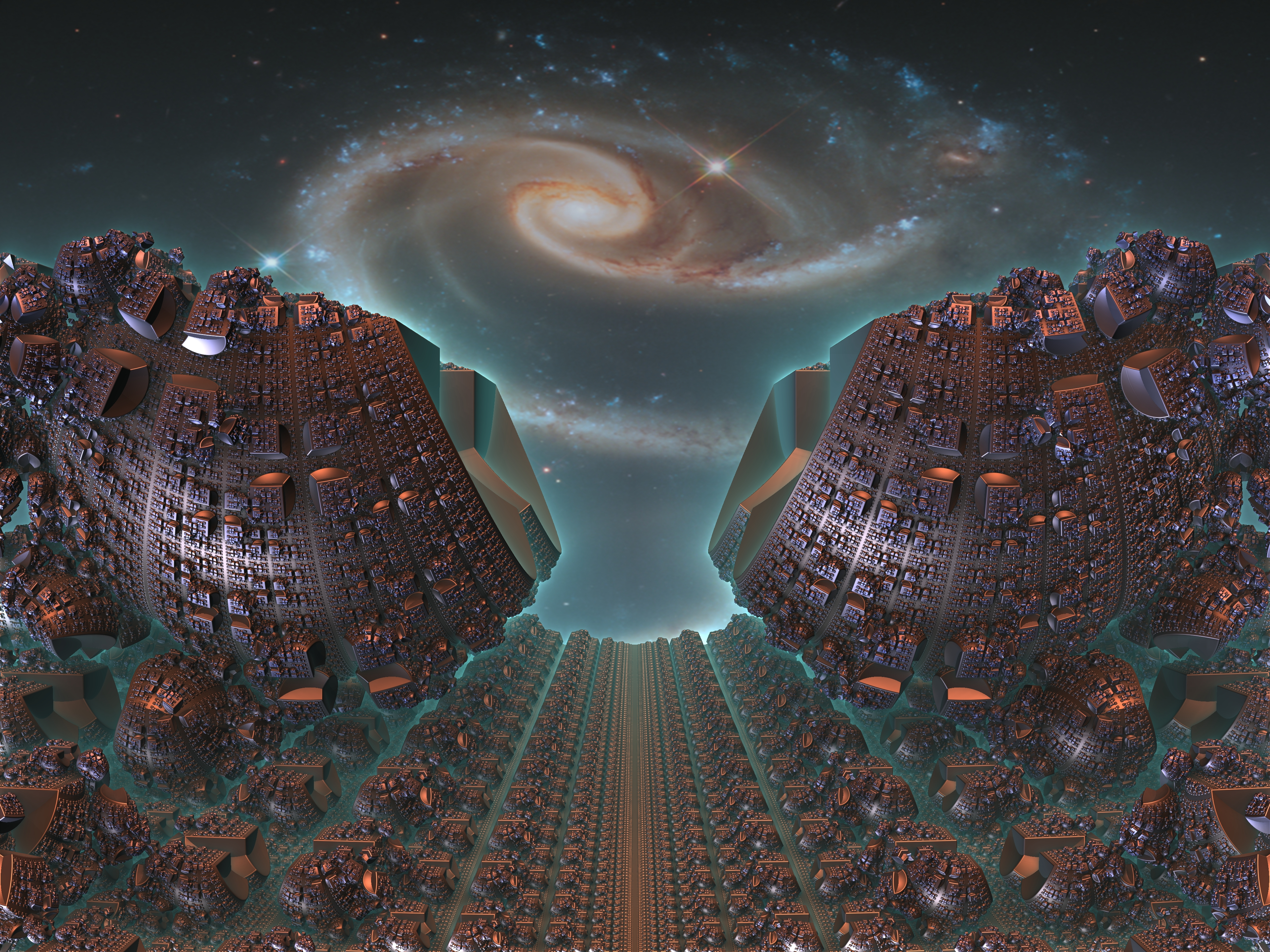 Sci Fi Wallpaper Of The Week 19: Fractals Of The Week: BioFurnace & Stars